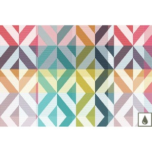 "Mille Twist Pastel Placemat 19""x13"", Coated Cotton"