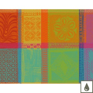 Mille Wax Creole Placemat, Coated Cotton