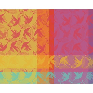 """Mille Colibris Antilles Placemat 16""""x20"""""""