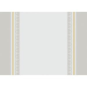 "Galerie Des Glaces Vermeil Placemat 21""x15"", Green Sweet Stain-resistant Cotton"