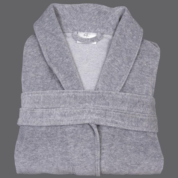 Stone Velour Robe