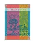 Sundae Funday Fruity Kitchen Towel