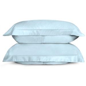 Sunrise Sky Blue Set of 2 Standard/Queen Sateen Pillow Shams