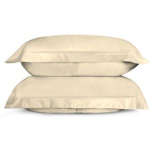 Sunrise Ivory Set of 2 King Sateen Pillow Shams
