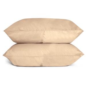 Sunrise Sand Set of 2 Standard/Queen Sateen Pillow Cases