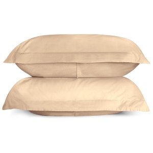 Sunset Brushed Percale Set of 2 Pillow Shams