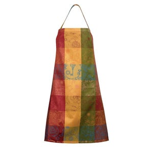 """Mille Alcees Litchi Apron, 30""""x33"""", Coated Cotton"""
