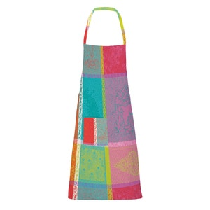 "Mille Holi Festival Apron 28""x33"", Coated Cotton"