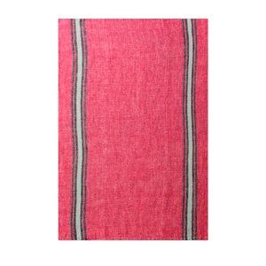 Costa Aubergine Kitchen Towel, 100% Linen