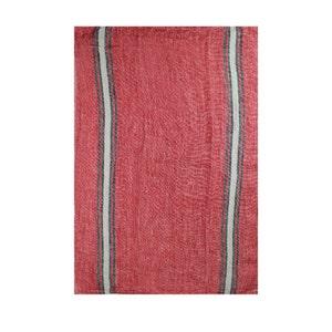 Costa Terracotta Kitchen Towel, 100% Linen