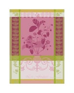 "Fraisier Rose Kitchen Towel 22""x30"", 100% Cotton"