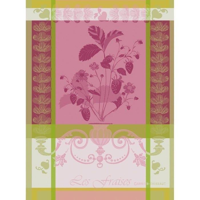 Fraisier Rose Kitchen Towel
