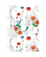 """Mille Coquelicots Floraison Kitchen Towel 20""""x28"""", 100% Cotton"""