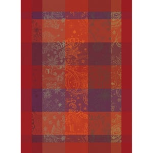 "Mille Couleurs Flamboyant Kitchen Towel 22""x30"", 100% Organic Cotton"