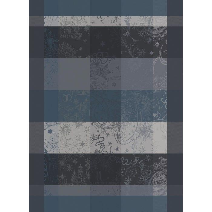 Mille Couleurs Dark Grey Kitchen Towel, 100% Organic Cotton