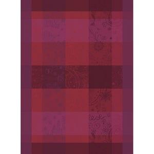 """Mille Couleurs Pivoine Kitchen Towel 22""""x30"""", 100% Organic Cotton"""