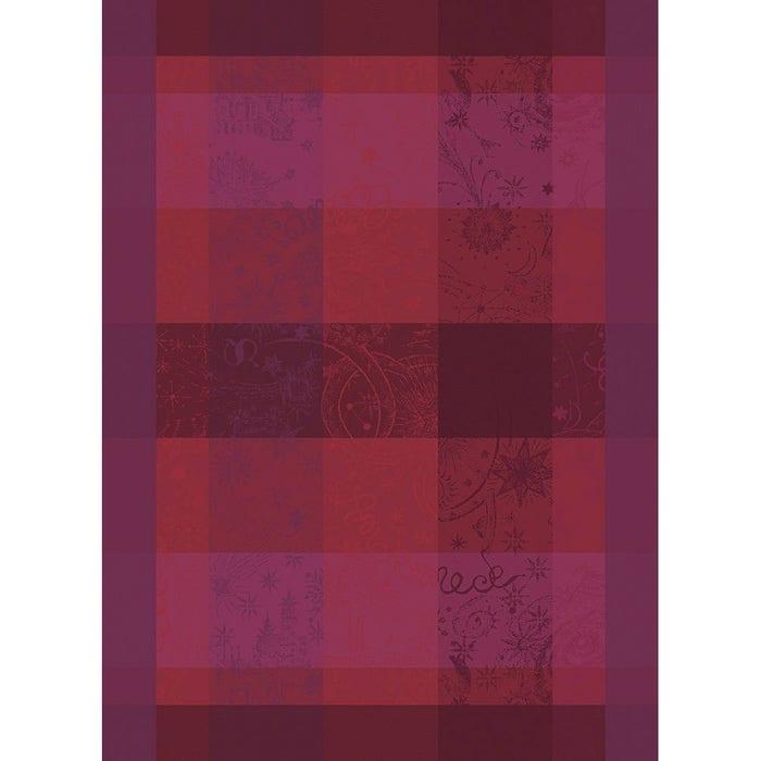 Mille Couleurs Pivoine Kitchen Towel, 100% Organic Cotton