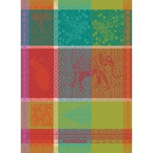 "Mille Holi Festival Kitchen Towel 22""x30"", 100% Cotton"