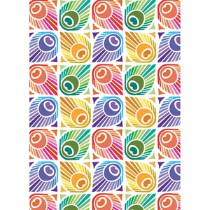 "Mille Peacock Summer Kitchen Towel 20""x28"", 100% Cotton"
