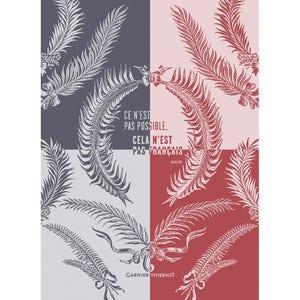 "Palmes Cmn Marseillaise Kitchen Towel 22""x30"", 100% Cotton"