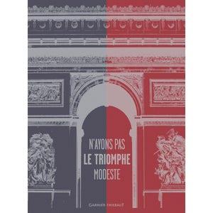 "Triomphe Cmn Marseillaise Kitchen Towel 22""x30"", 100% Cotton"