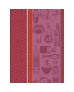 """Vinaigre Balsamique Rouge Kitchen Towel 22""""x30"""", 100% Cotton"""