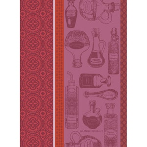 "Vinaigre Balsamique Rouge Kitchen Towel 22""x30"", 100% Cotton"