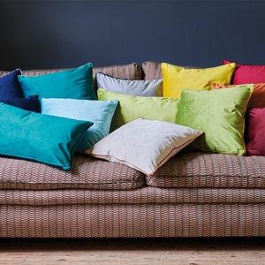 Plain Velvet Cushion Cover