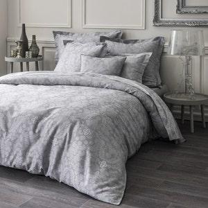 Velvet Grey Duvet Cover